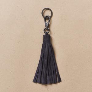Steel Blue Tassel Key Holder