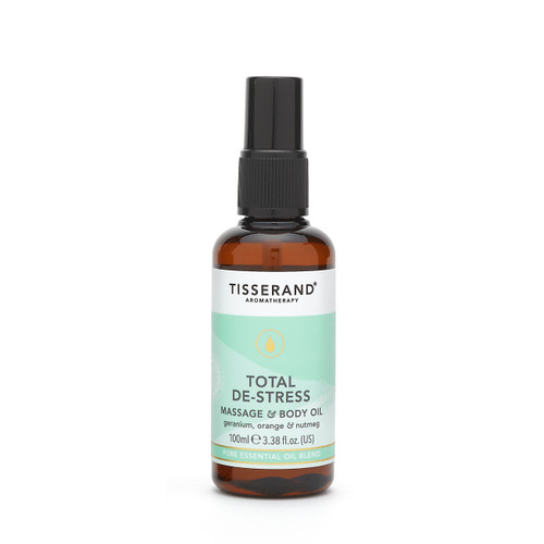 Tisserand Aromatherapy - Total De-Stress Massage and Body Oil