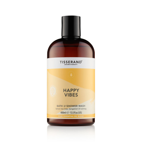 Tisserand Aromatherapy Happy Vibes Bath And Shower Wash