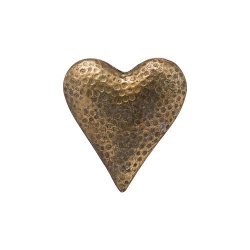 Bronze Detailed Heart