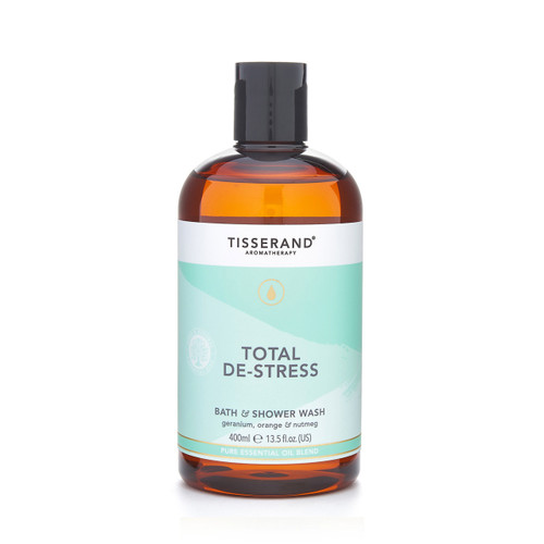 Tisserand Aromatherapy Total De-stress bath and shower wash