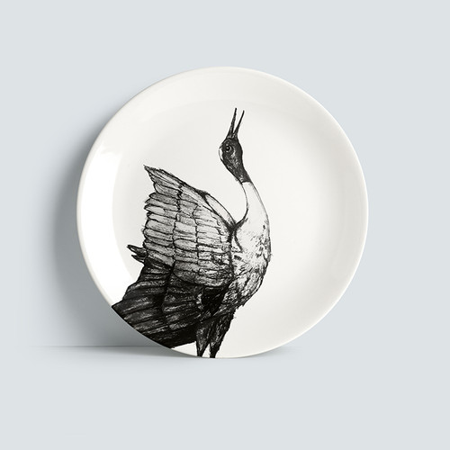 The BirdLife Collection: Sarus Crane - Plate