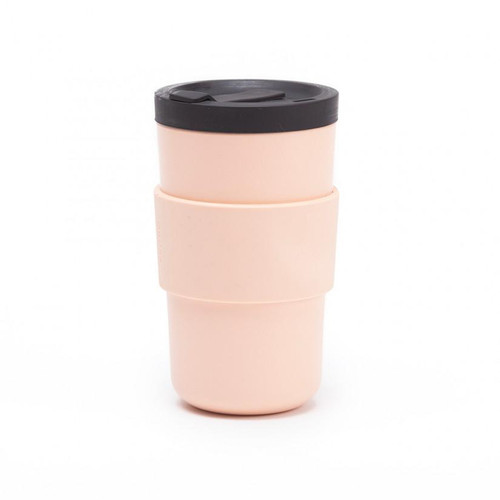 bamboo takeaway reusable coffee cup with lid