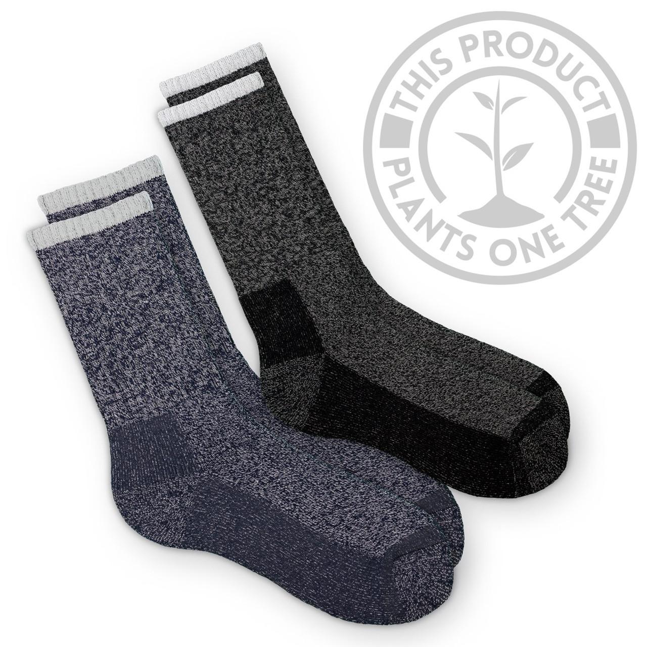 Men/'s Super Warm Heavy Duty Thermal Merino Wool Winter Work Socks ONE SIZE