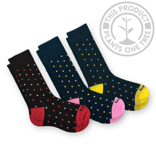 Dots American Crew Bamboo Dress Socks