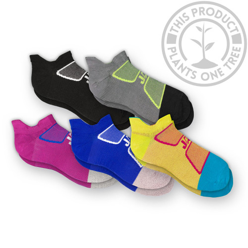 EcoSox JAG Athletic ZIG-LITE Bamboo Running Socks