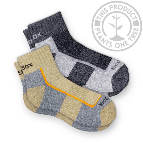 Bamboo Light Weight Hiking Quarter Socks
