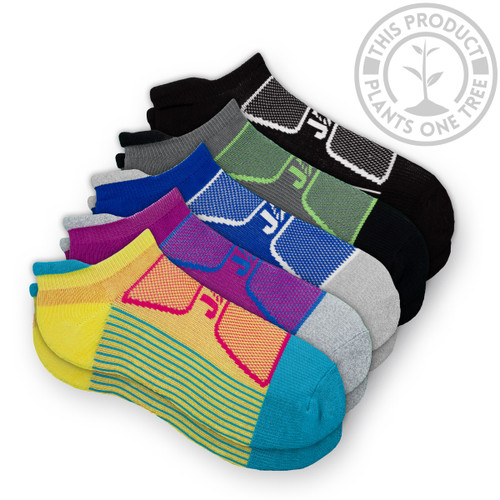 EcoSox JAG Athletic ZAG-MAX Bamboo Running Socks