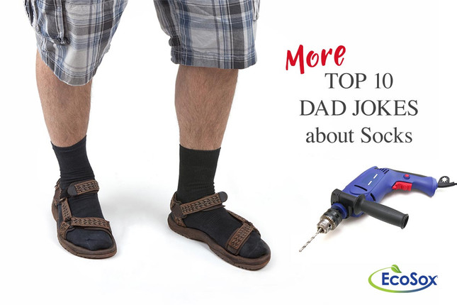 More Top 10 Dad Jokes About Socks