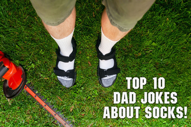 Top 10 Dad Jokes About Socks