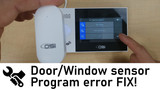 How to connect your Motion and Contact (Window/Door) sensors to the OSI Wi-Fi Alarm System