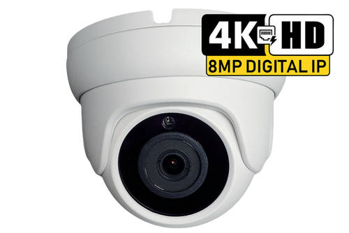 OSI 4K (8MP) Indoor and Outdoor IP Dome camera
