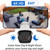 4-Camera 4K wireless IP Kit with 2TB Hard Drive installed