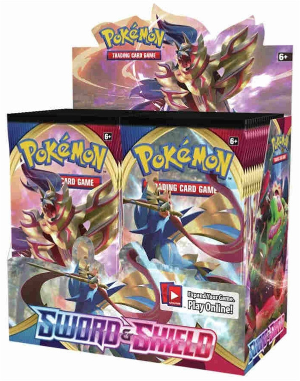 Pokemon TCG: Sword & Shield Booster Box