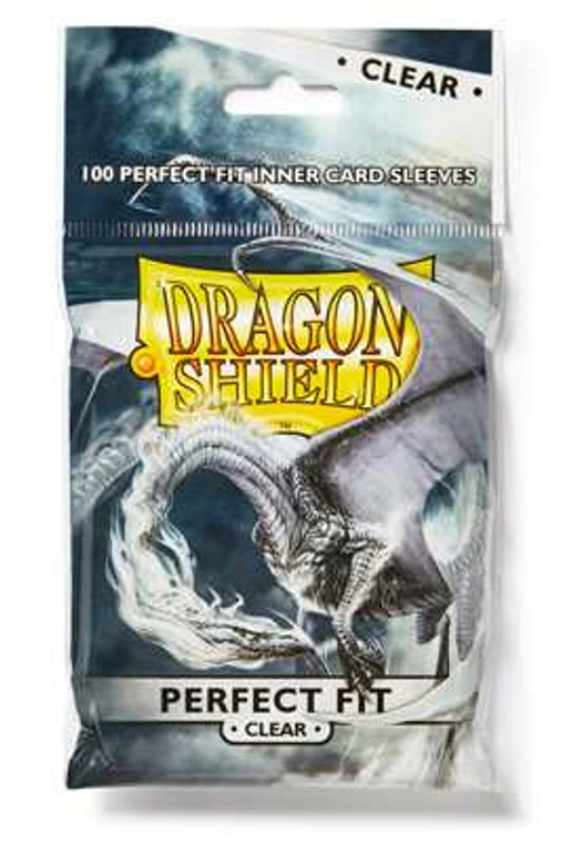 Dragon Shield Perfect Fit Sleeves Box - Clear