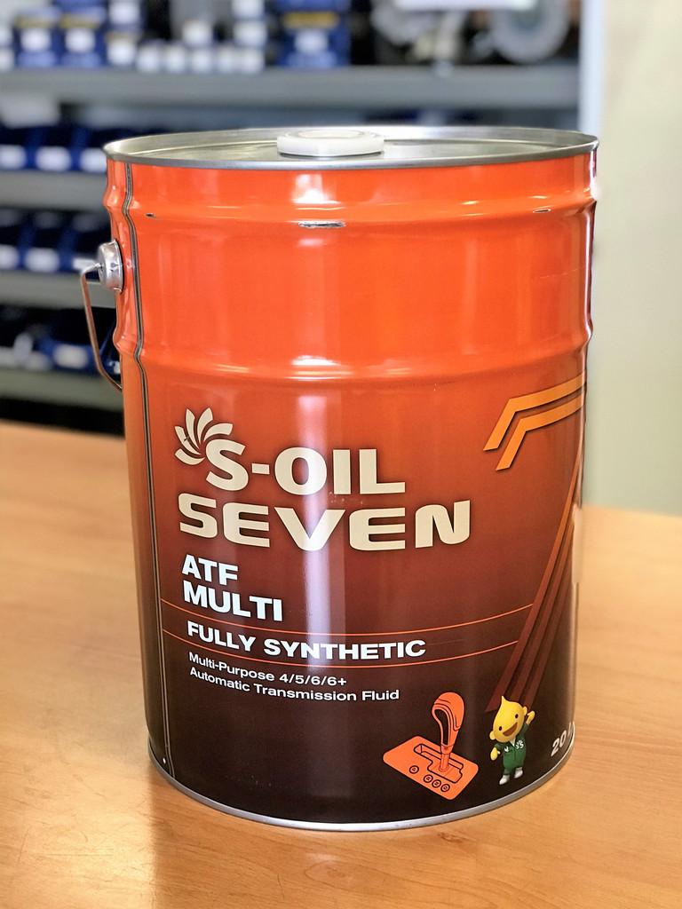 S-Oil 7 ATF Multi 20L; S-Oil Seven Australia