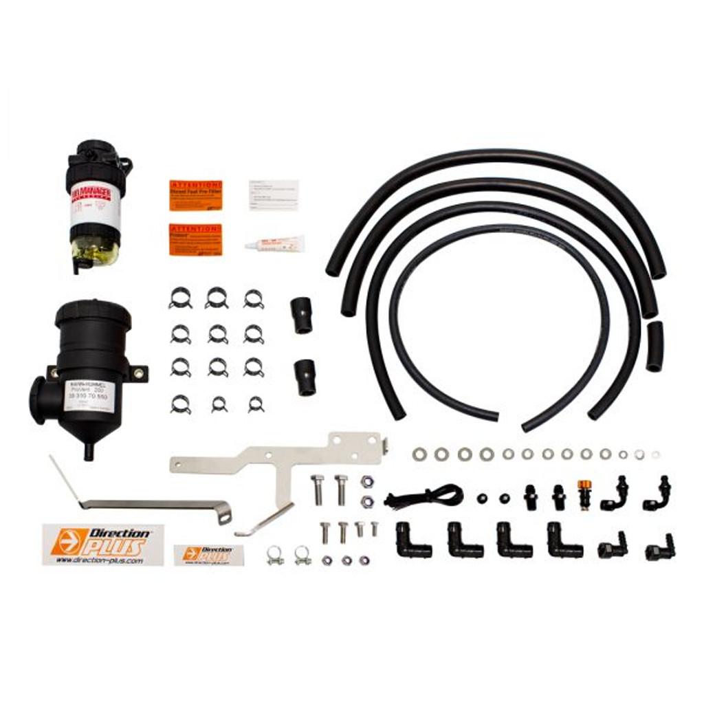 FMPV661DPK; Ford Ranger / Ford Everest / Mazda BT50 dual Fuel Water Separator & Crank Case Ventilator - Mann Hummel Provent  & Fuel Manager