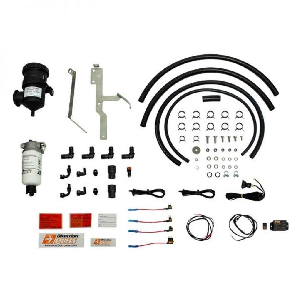 PLPV661DPK; Ford Ranger / Ford Everest / Mazda BT50 dual Fuel Water Separator & Crank Case Ventilator - Mann Hummel Provent  & Mann Hummel Preline 150