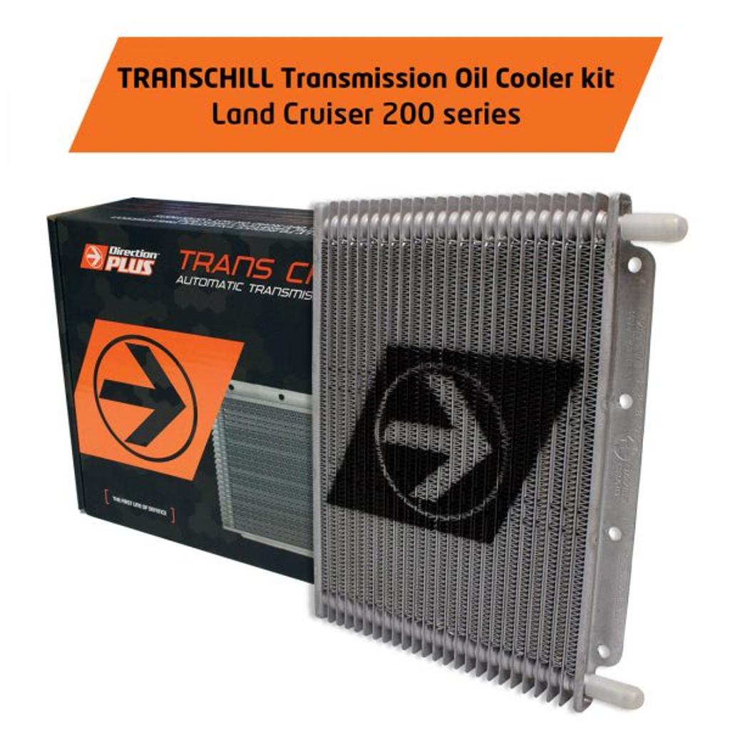 TCD615DPK; TransChill Transmission Dual Cooler Kit LAND CRUISER 200