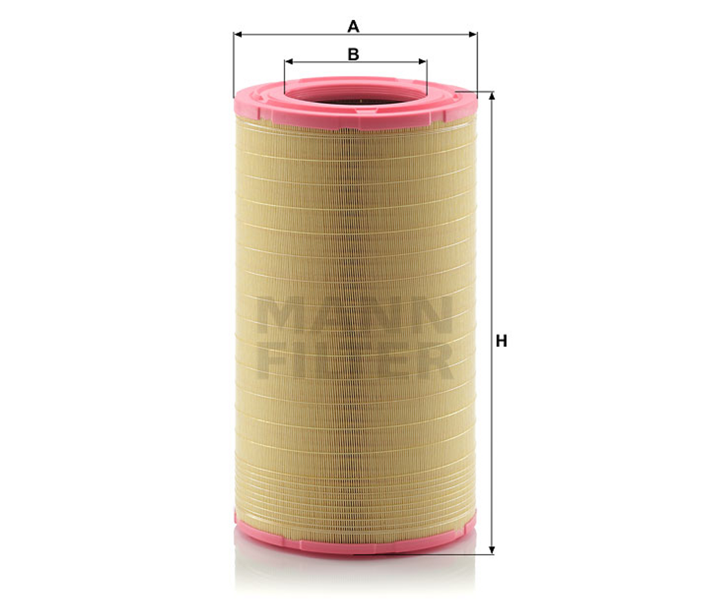 C321752/1 Mann Air Filter (Dimension)