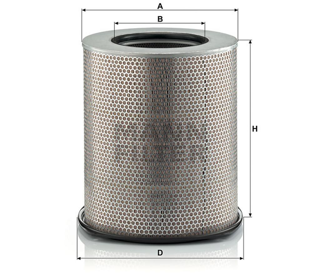 C361820 Mann Air Filter (Dimension)