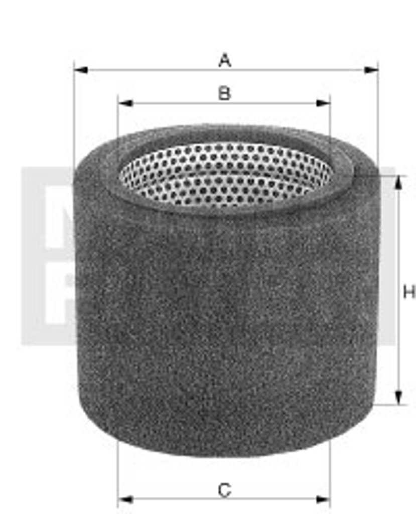 C37820/1 Mann Air Filter (Dimension)