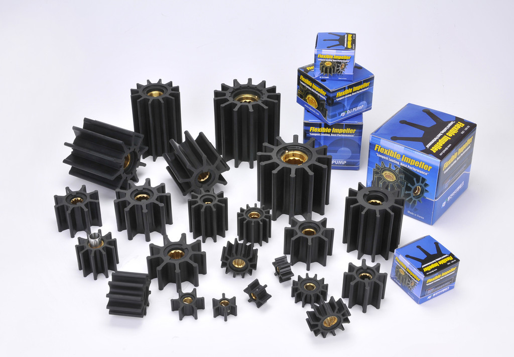 09-108-0601 DJ Pump Impeller; Replaces Jabsco 637-000; Johnson 09-1026B