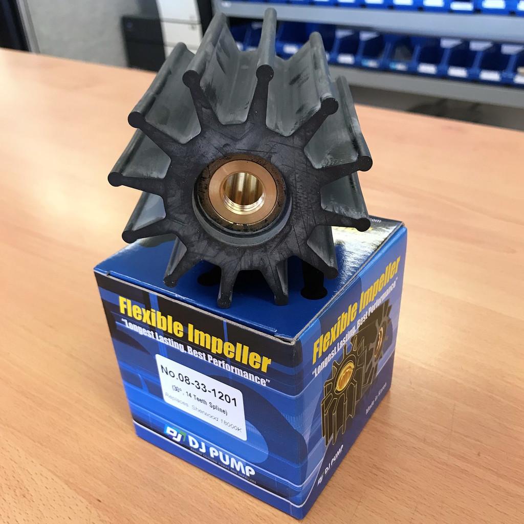 08-33-1201 DJ Pump Impeller; Replaces Sherwood 18000K
