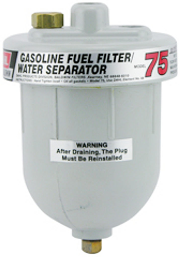 75 Baldwin Gasoline or Diesel Fuel Filter/Water Separator