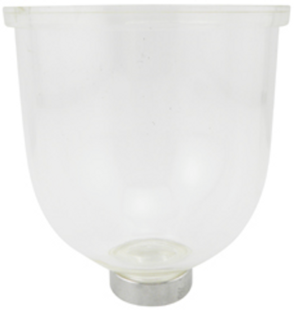 200-21M Clear Bowl with Marine Collar for Marine Units
