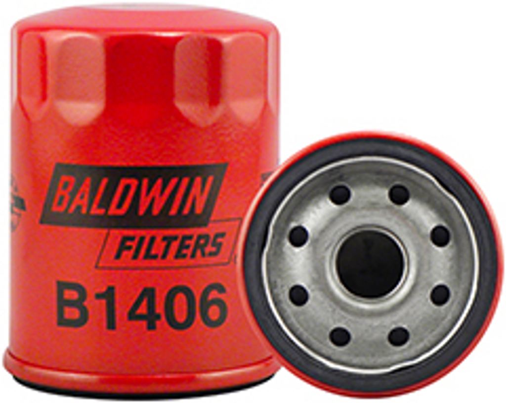 B1406 Baldwin Lube Spin-on Replaces:	Nissan 15208-53J00
