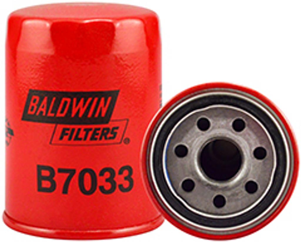 B7033 Baldwin Full-Flow Lube Spin-on Replaces Isuzu 8-94463-713-0