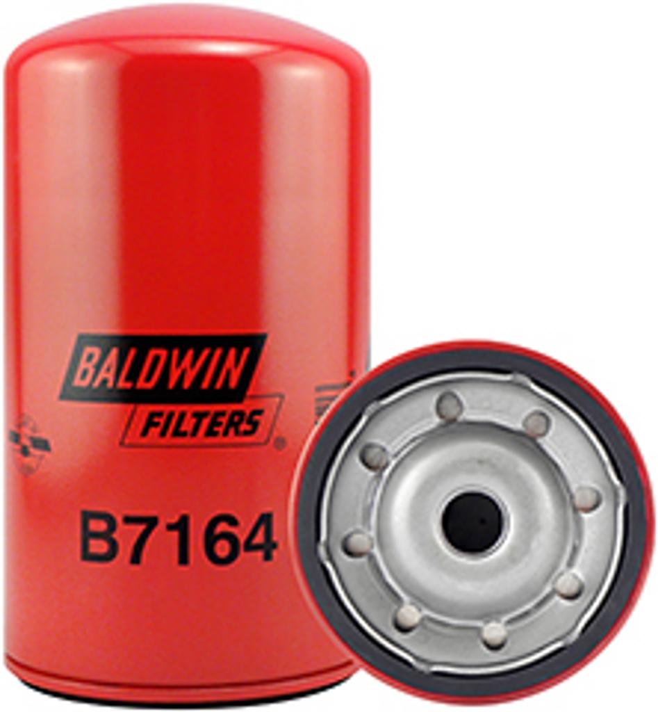 B7164 Baldwin By-Pass Lube Spin-on Replaces Hitachi 4285642; Isuzu 8-97026-134-2
