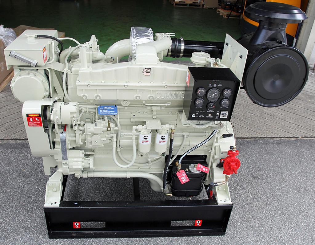Cummins NTA855-M350 Marine Engine with Heat Exchanger - New