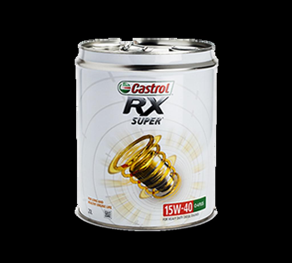 Castrol RX Super 15W-40 20L API CI-4 Plus Thumbnail