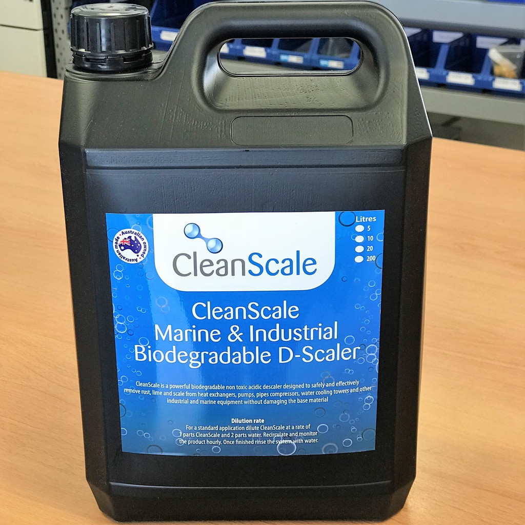 CleanScale Marine & Industrial Biodegradable D-Scaler 5L