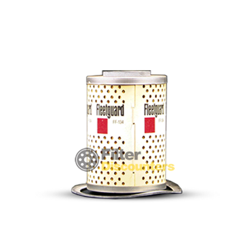 Fleetguard Fuel Filter FF134 with Filter Discounters Logo