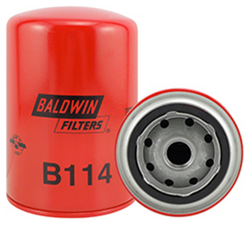 B114 Baldwin Oil Filter Replaces Volkswagen 68115561; Volvo 13281611