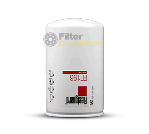Fleetguard Fuel Filter FF196 with Filter Discounters Logo