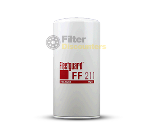 Fleetguard Fuel Filter FF211 with Filter Discounters Logo