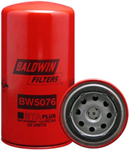 BW5076 Baldwin Coolant Filter Replaces Cummins 3318319; Fleetguard WF2076