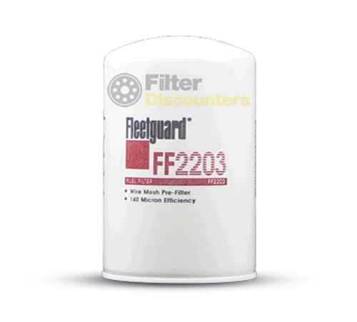 Fleetguard Fuel Filter FF2203 with Filter Discounters Logo