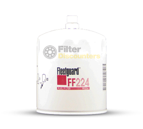 Fleetguard Fuel Filter FF224 with Filter Discounters Logo