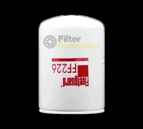 Fleetguard Fuel Filter FF226 with Filter Discounters Logo