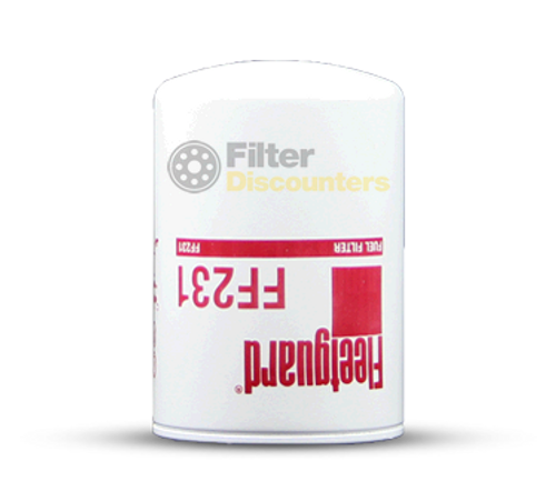 Fleetguard Fuel Filter FF231 with Filter Discounters Logo