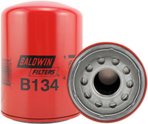 B134 Baldwin Oil Filter Replaces Ford E3TZ-6731-A; International 1804442-C1