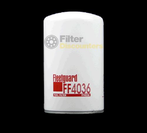 Fleetguard Fuel Filter FF4036 with Filter Discounters Logo