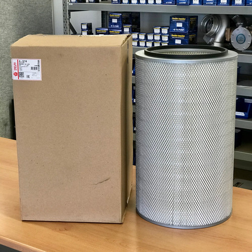 A-5718 Sakura Air Filter; Replaces AF1605M, LL2562, P182042, A5718, WIX 42258NP; Hitachi 4206272; Ingersoll-Rand 35298108