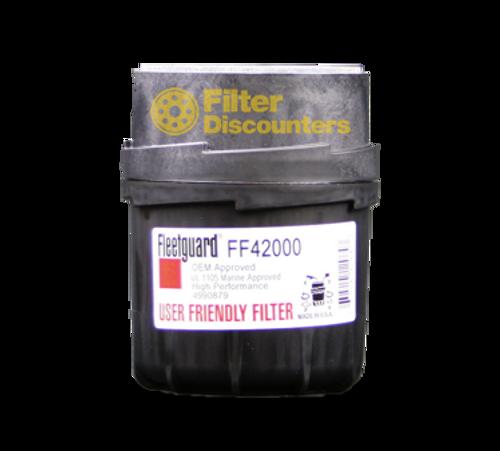 Fleetguard Fuel Filter FF42000 with Filter Discounters Logo