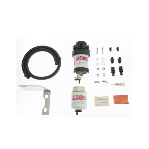 FM615DPK; Toyota Landcruiser 2007-2013 70&200 Series (Single Battery)Pre Fuel Water Sepertor Kit - Fuel Manager